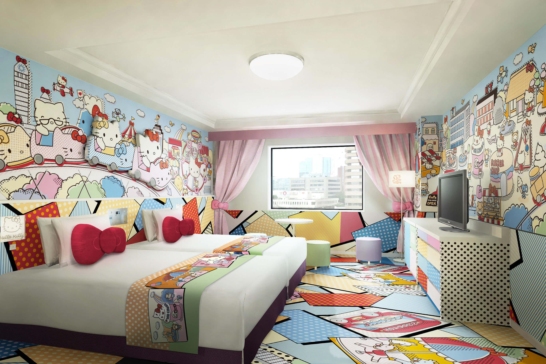 京王プラザホテル多摩 ハローキティ ルーム Keio Plaza hotel Hello Kitty room