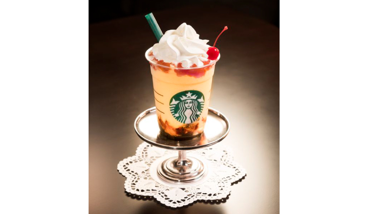 Pudding Almond Frappuccino And More Enter The Cute Retro