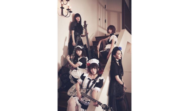 BAND-MAID A写 top