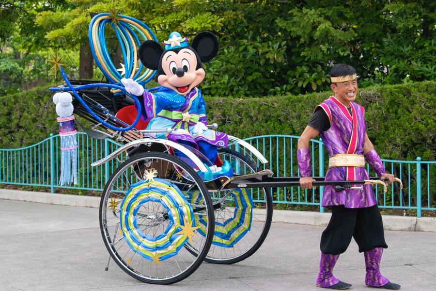ミッキー ディズニーランド Disney Land Tokyo 東京 七夕グリーティング/Tanabata Greeting (1)