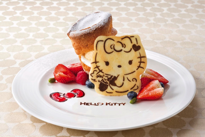 ハローキティ スイーツ Hello Kitty cake set in Sep, Oct, Nov copy