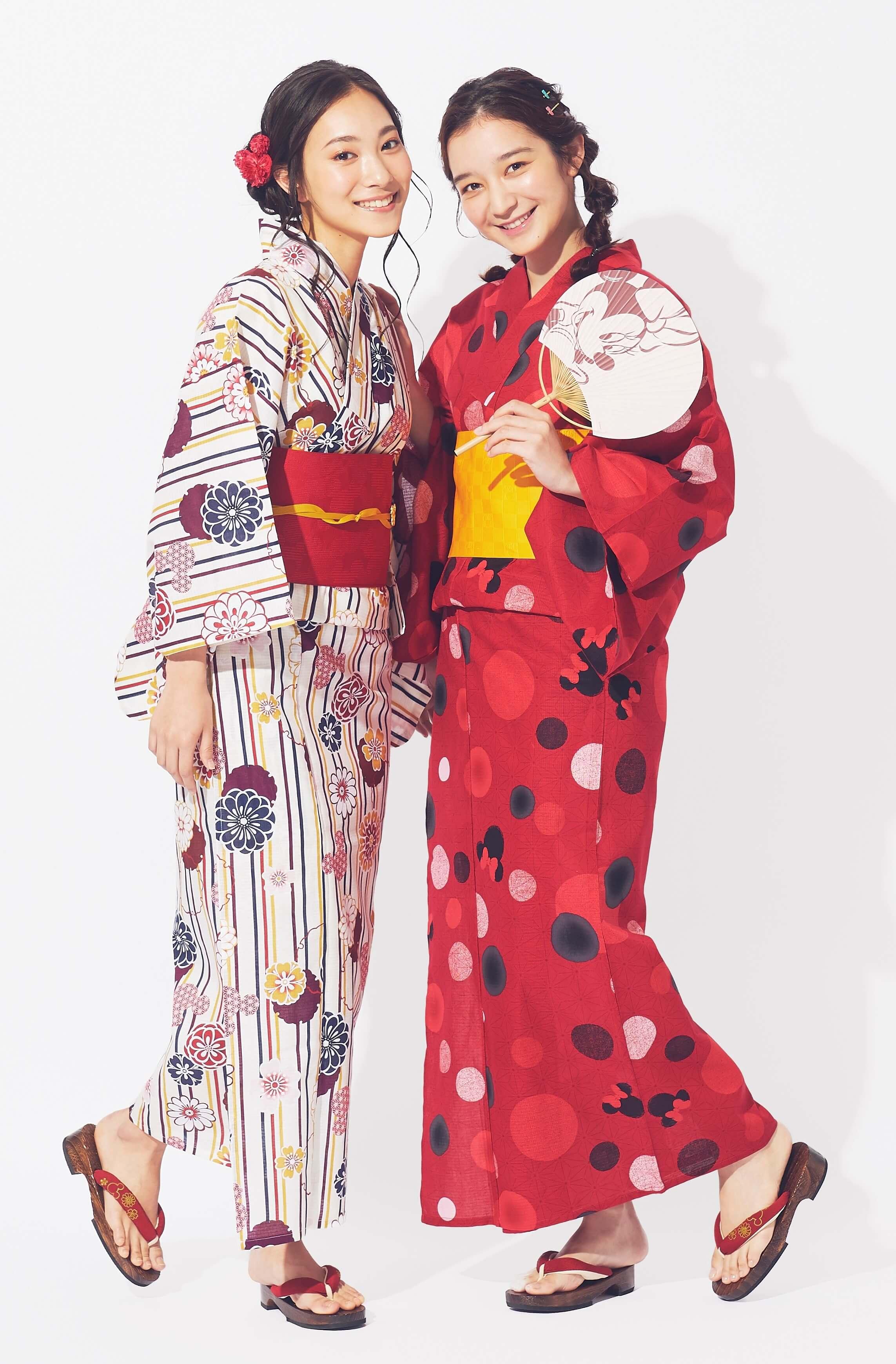 ディズニーストア 浴衣 Disney Kimono_1