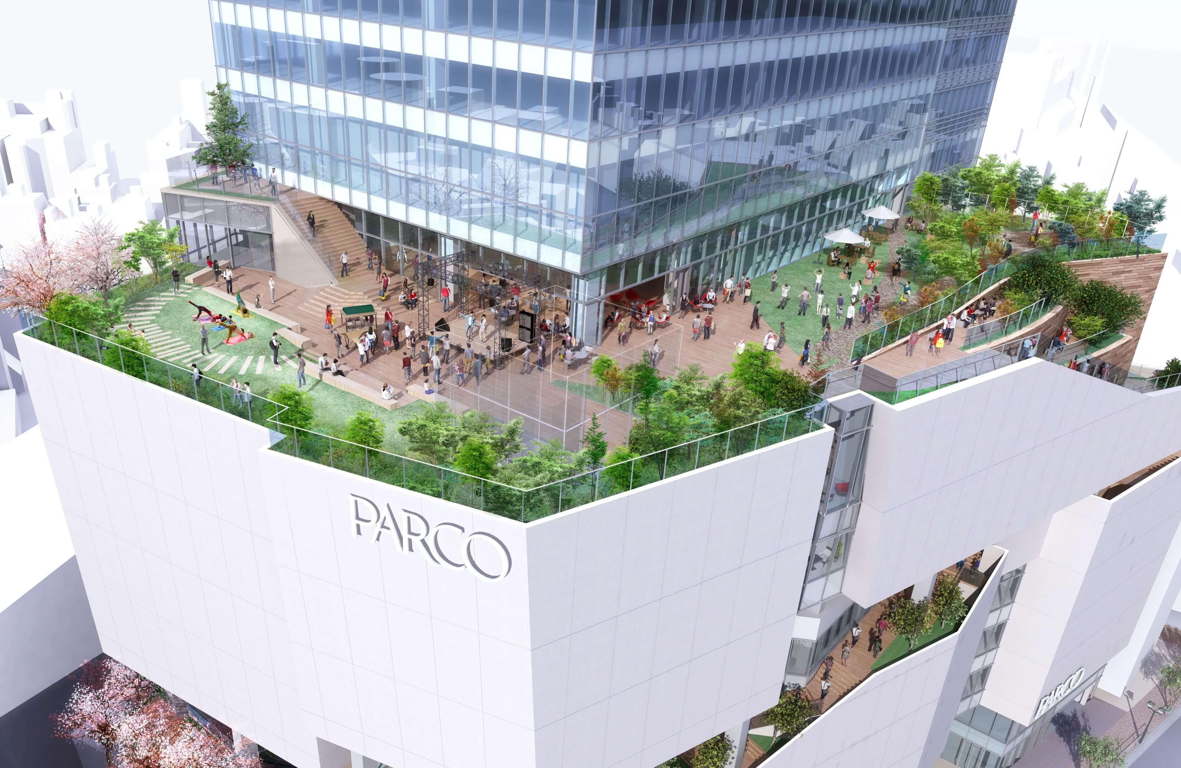 渋谷PARCO パルコ shibuya メインビジュアル