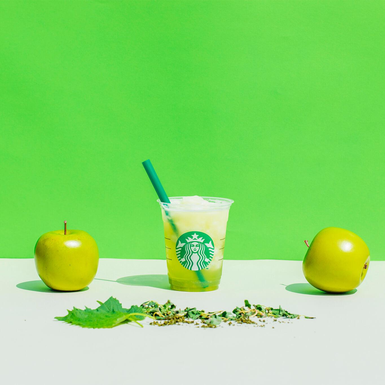 starbucks スターバックス ティバーナTM フローズン ティー tivana frozen tea 香る煎茶 × グリーン アップル green apple