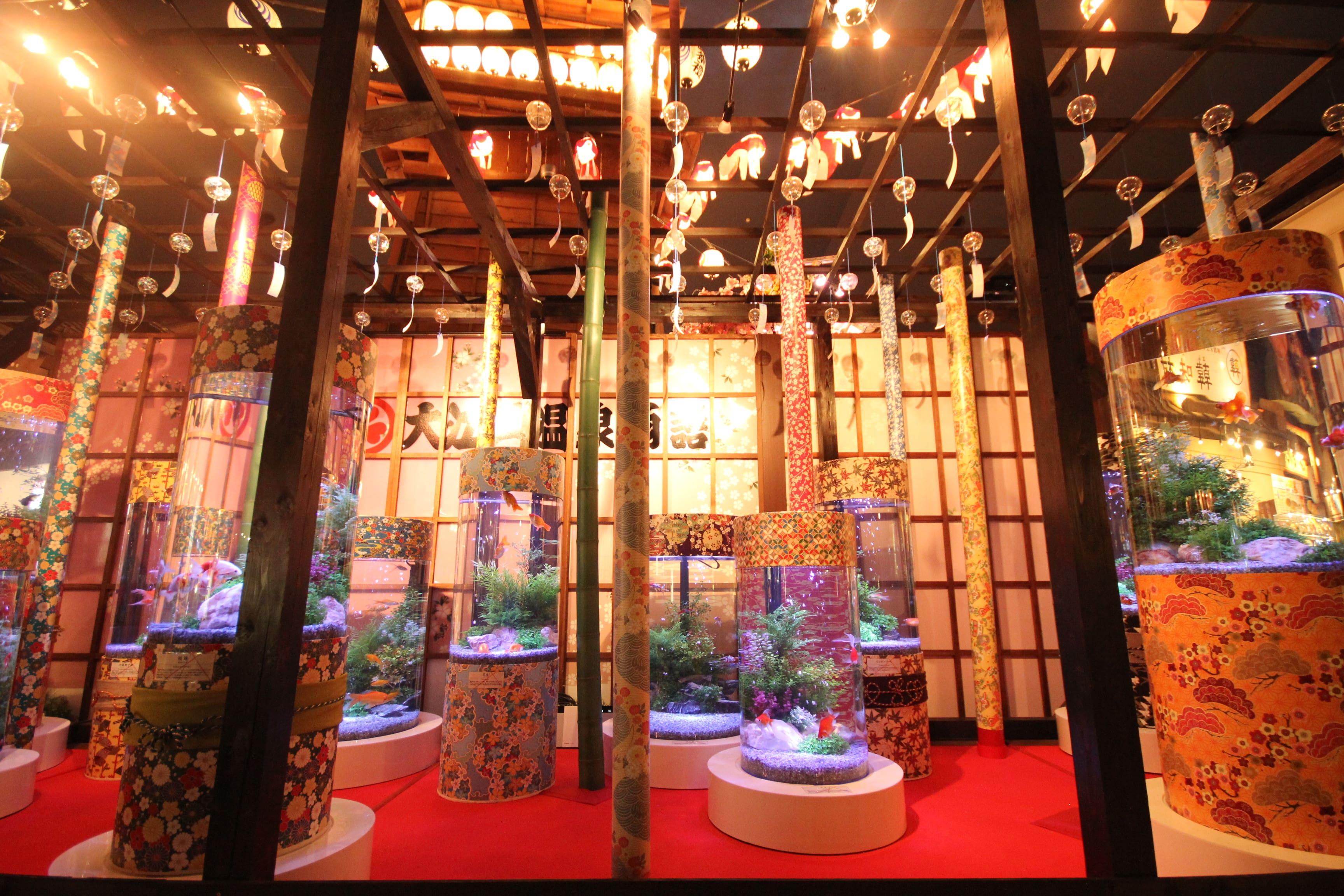 sub1大江戸温泉金魚物語 金魚祭りアート博覧会 oedo onsen monogatari kingyo matsuri art hakurankai-min
