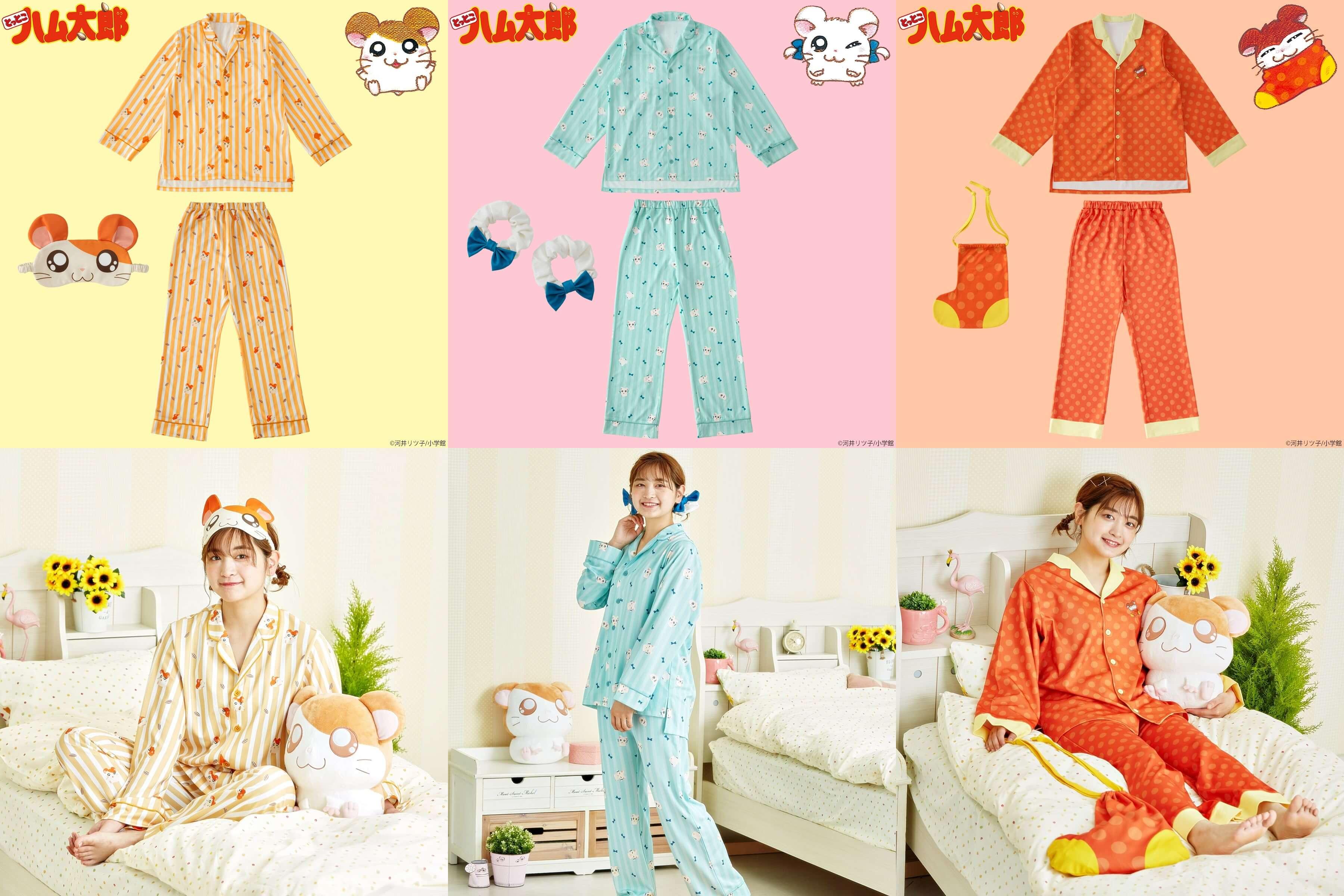 main とっとこハム太郎 tottoko hamu taro パジャマ ワンピース pajama one piece img_185934_1
