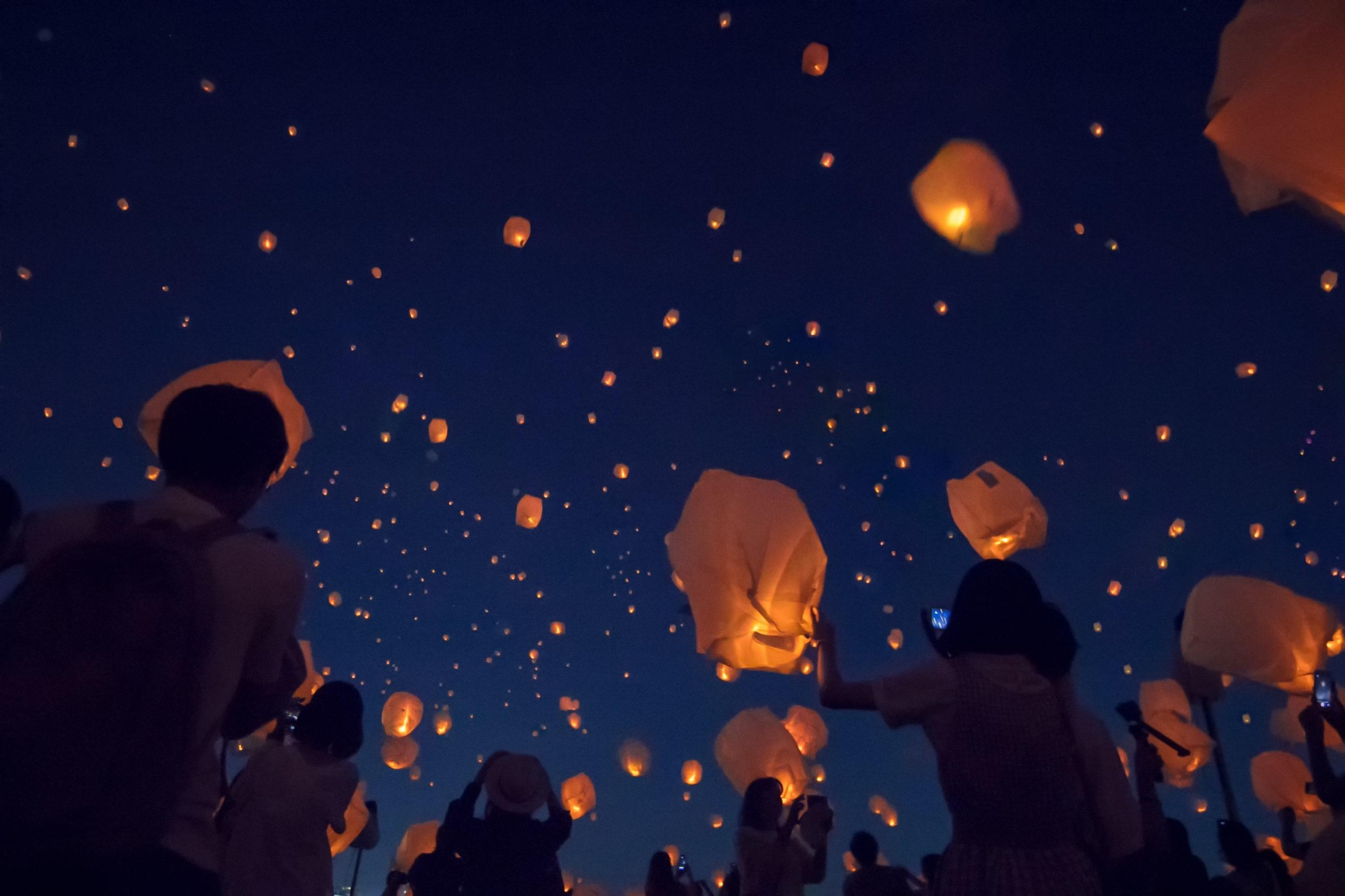 Tanabata Sky Lantern Festivals To Take Place In Tokyo And Kobe Moshi Moshi Nippon もしもしにっぽん