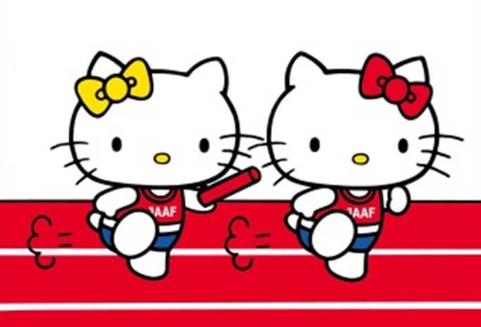 ハローキティ×日本陸上競技連盟 Hello Kitty