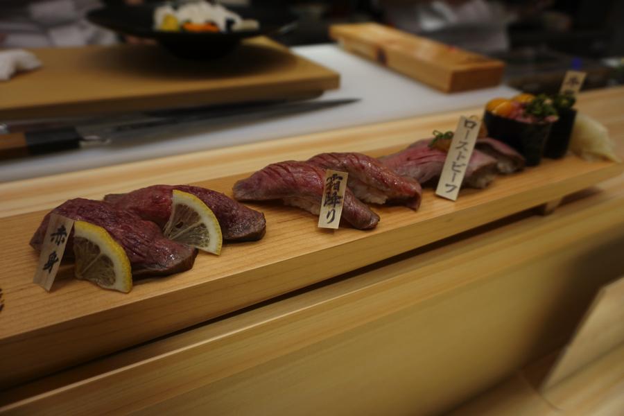 おにくのおすし 浅草 Oniku no Osushi Asakusa Dinner Recommend Lunch ランチ ディナー 肉 松阪牛 Matsuzakagyu_3