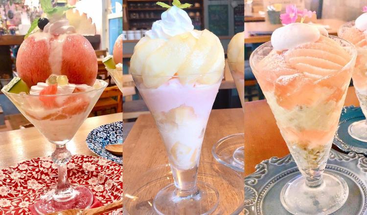 桃パフェ 愛知県 フルーツパフェ Aichi-Pech-Parfet-dessert-