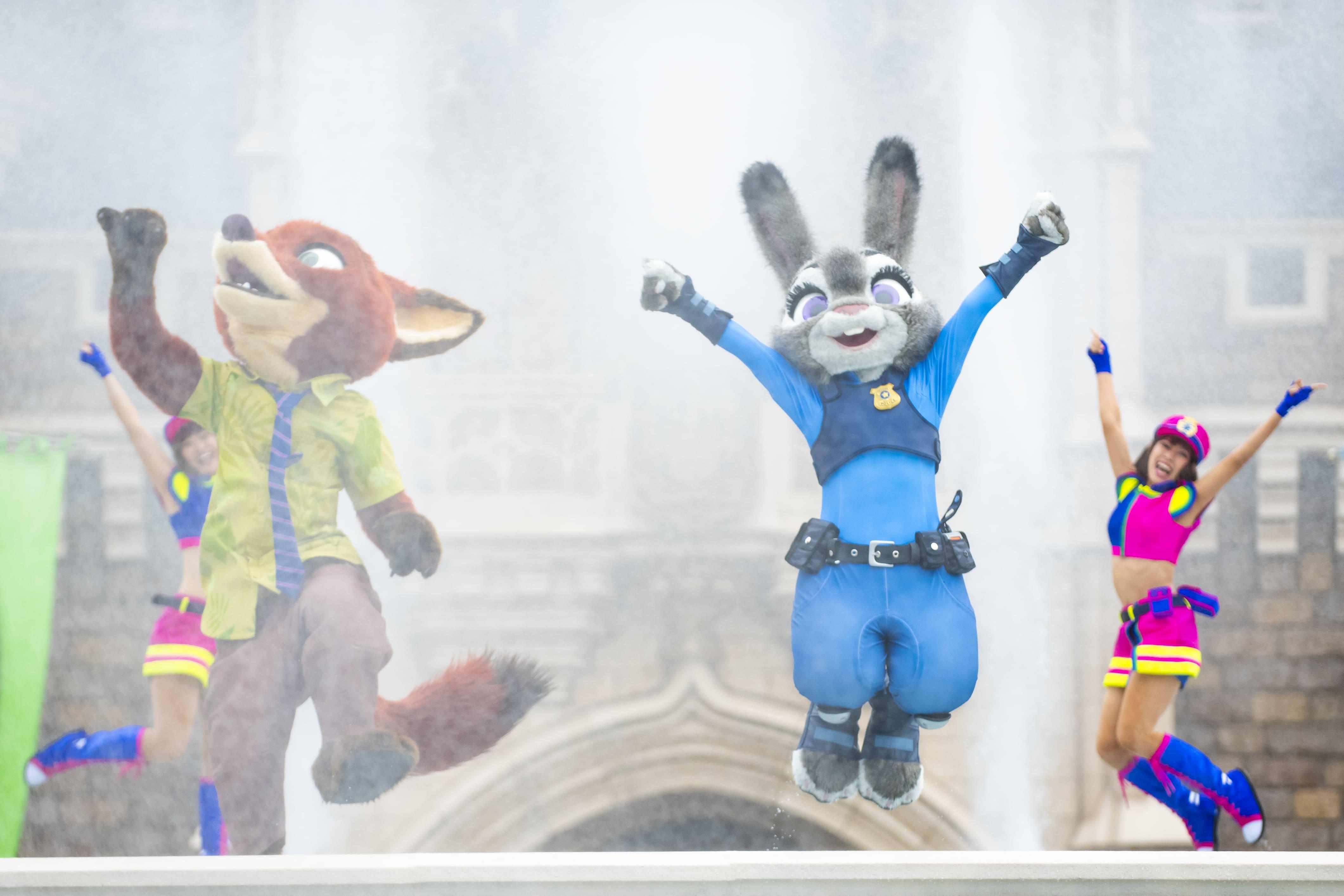 ジュディとニックのジャンピン・スプラッシュ/Judy and Nick's Jumpin' Splash