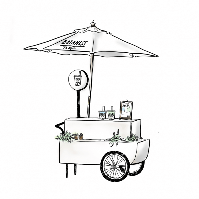 タピオカ ヴィーガン ボタニストカフェ Bubble tea vegan BOTANIST CAFE 原宿 harajuku 5