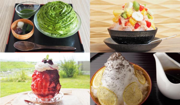 京都-Kyoto-Shavedice-かき氷 エスプーマ 抹茶 フルーツ 祇園 Gion-Japanese-furuits-