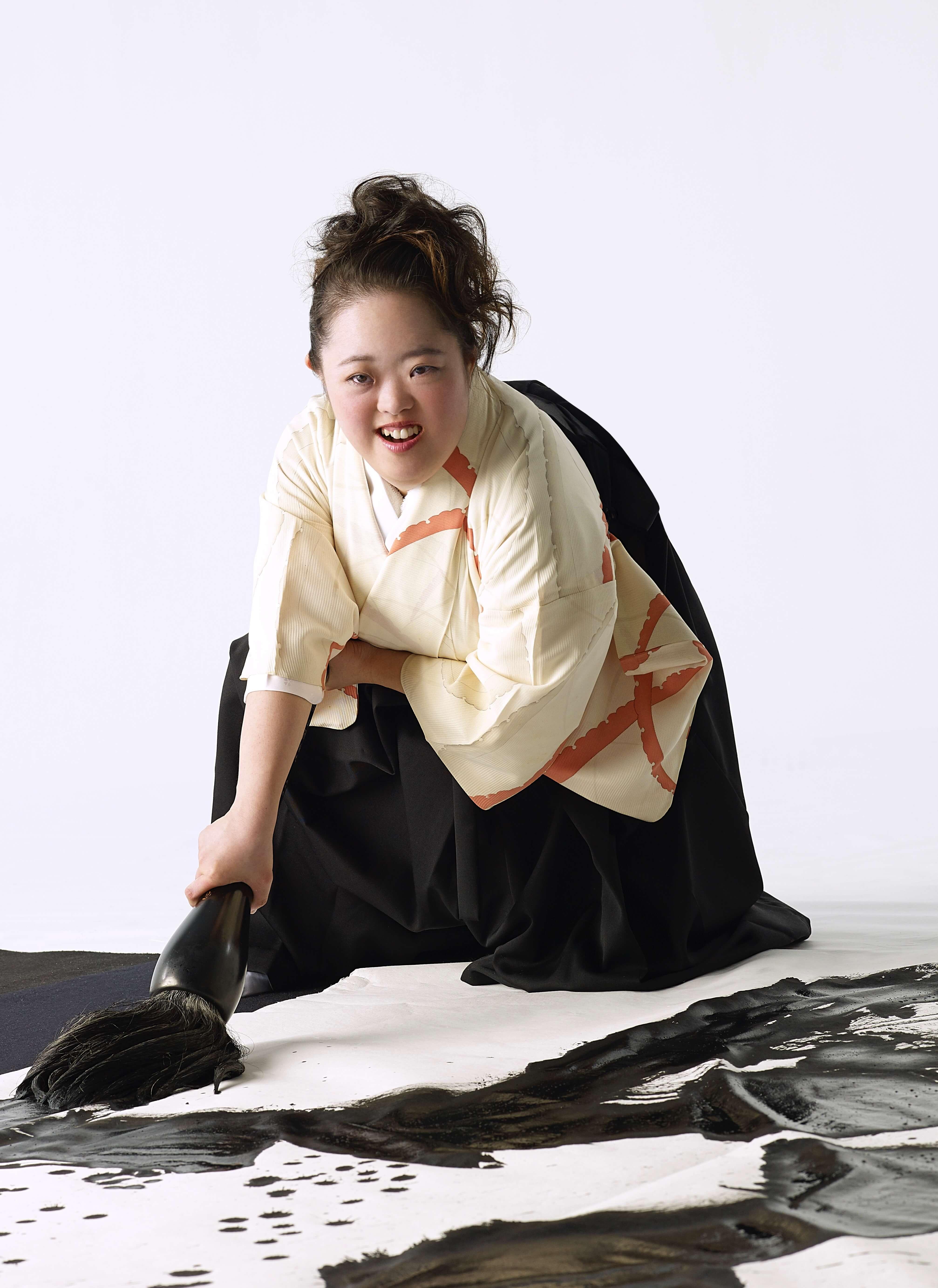 金澤翔子 ShokoKanazawa_Portrait