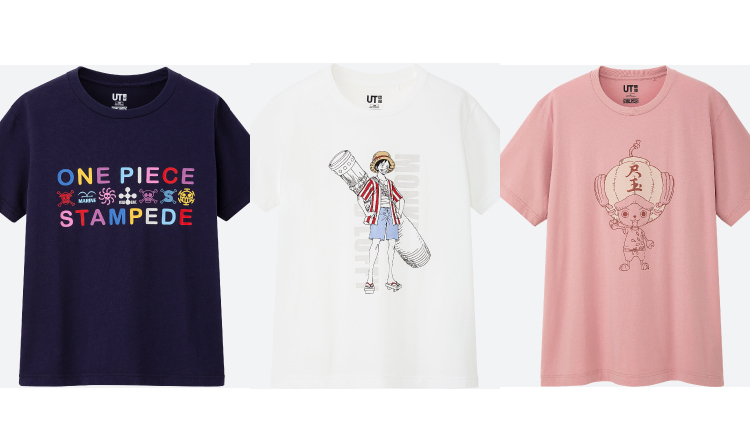 One Piece Stampede T Shirts To Be Released By Uniqlo For Upcoming