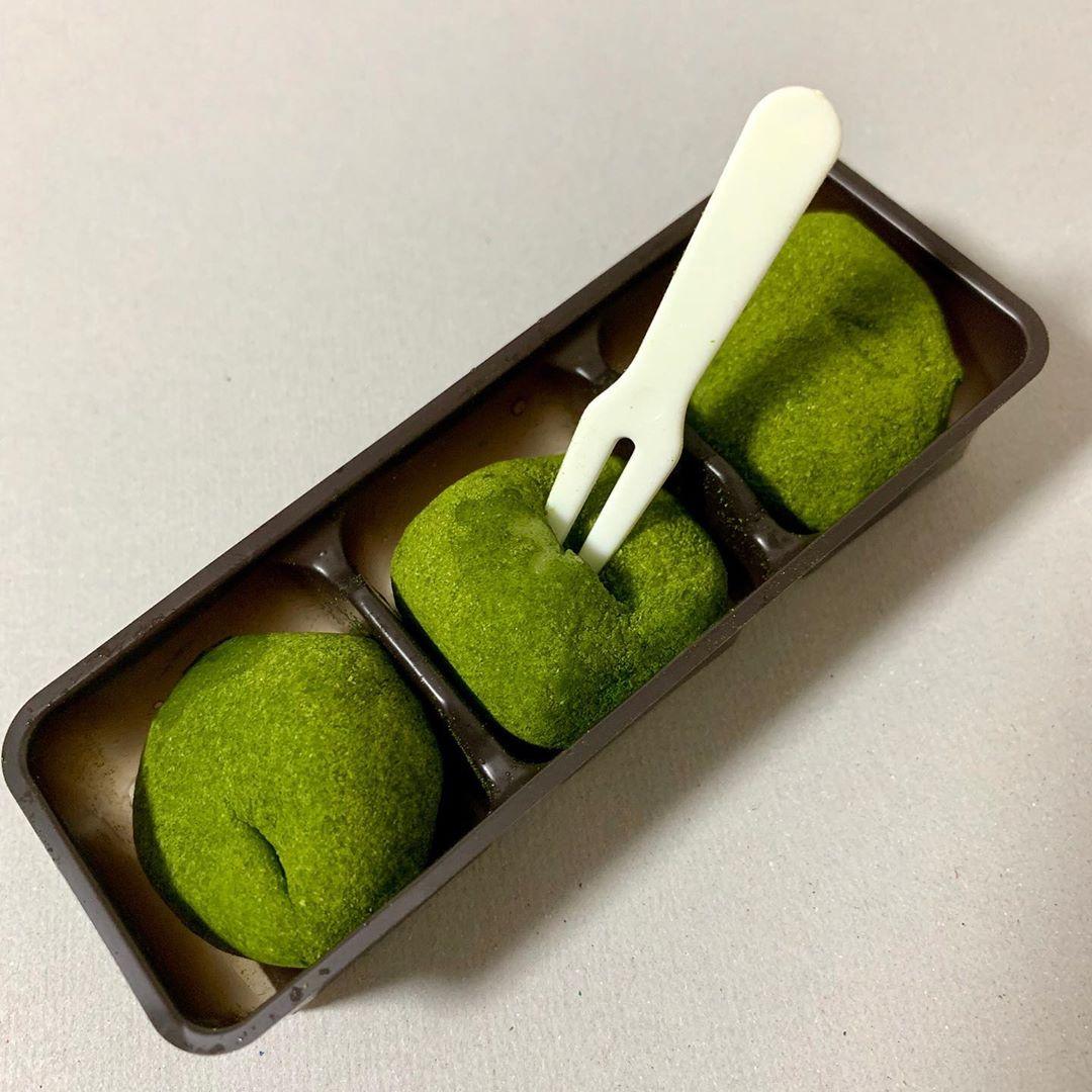 宇治抹茶クリームもち Uji Matcha cream mochi3