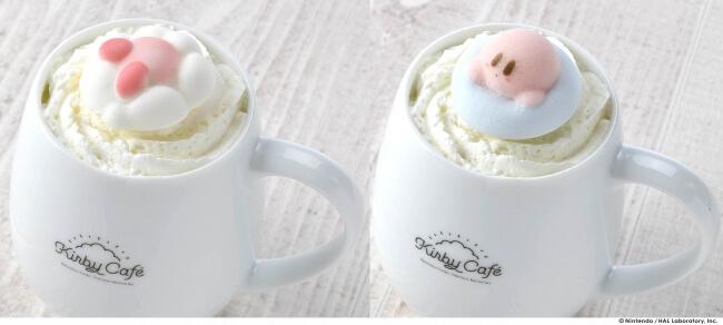 マシュマロおれ  KIRBY CAFÉ カービィカフェ