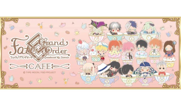 Fate:Grand Order Design produced by Sanrio(フェイト グランドオーダー デザイン プロデュース バイ サンリオ) コラボカフェ Cafe 表参道 Omotesando
