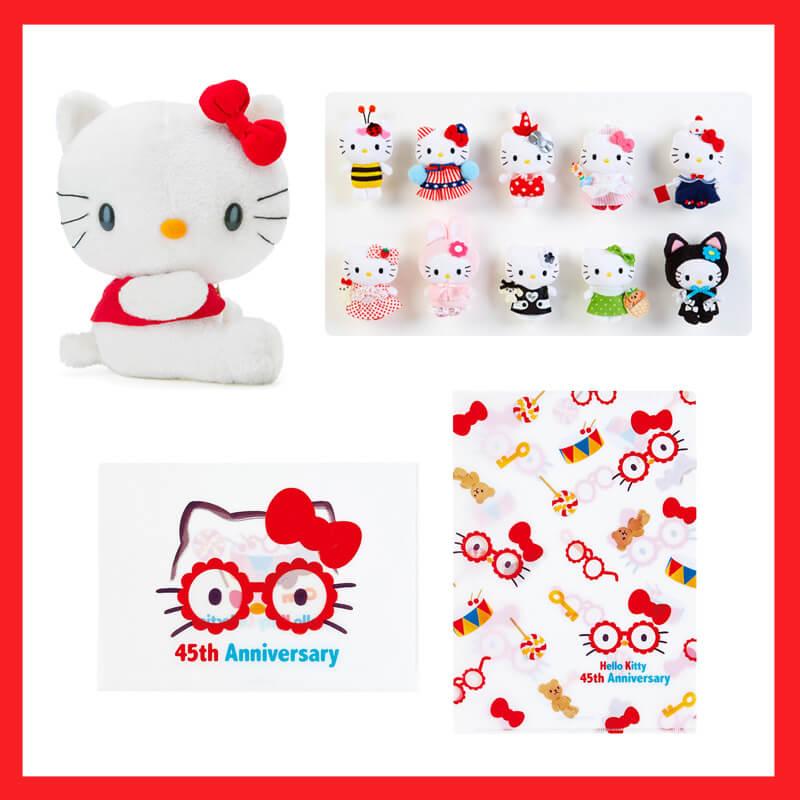Celebrate Hello Kitty's 45th Anniversary at the Hello Kitty