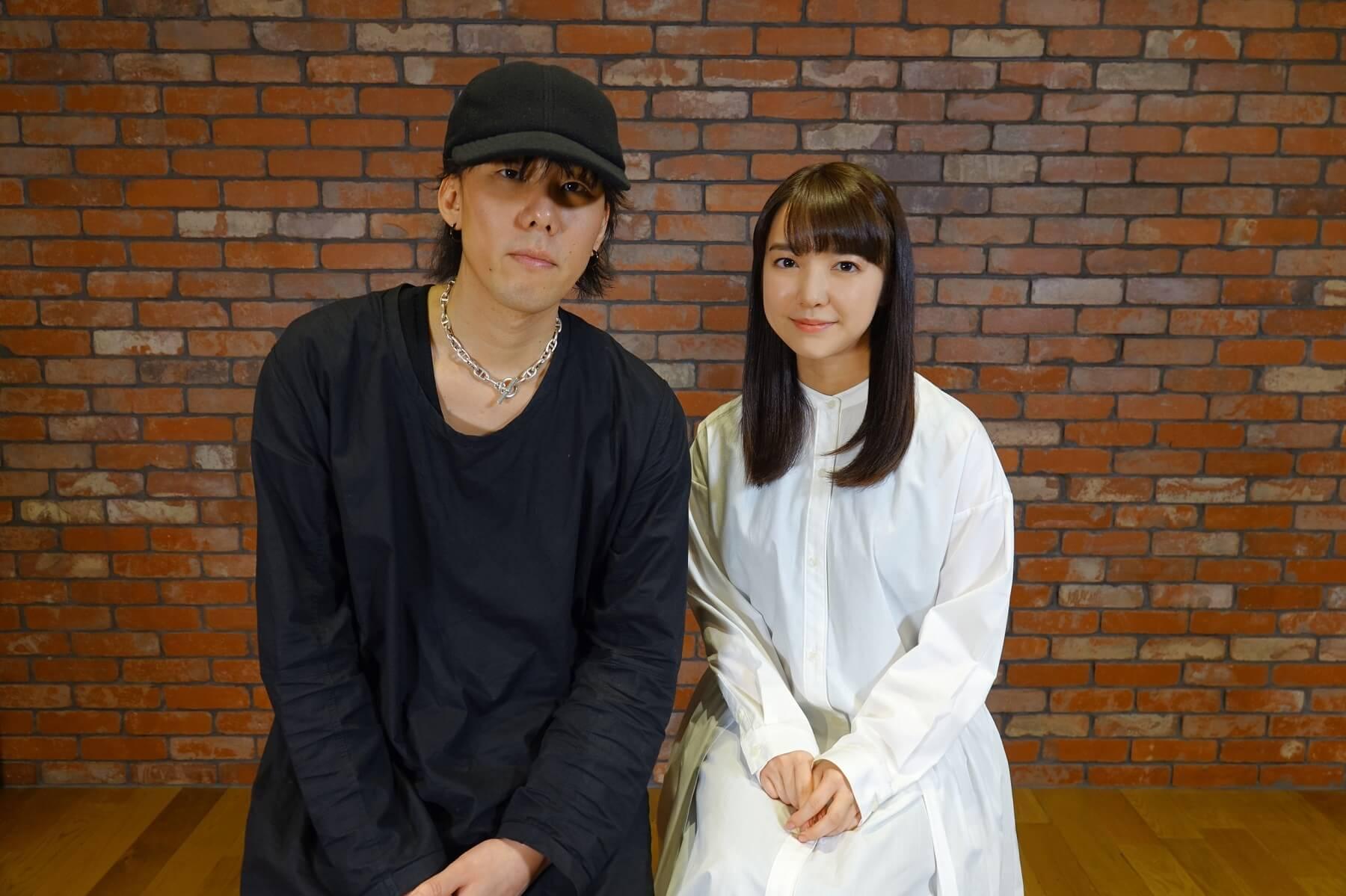 RADWIMPS 野田洋次郎 上白石萌音 映画『楽園』主題歌レコーディング時2ショット