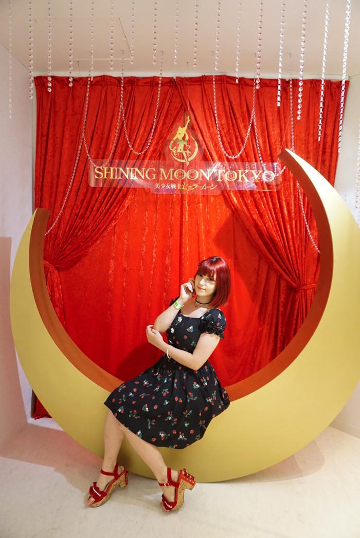 Sailor moon セーラームーン 美少女戦士 麻布十番 ショーレストラン Show restaurant Azabujyuban_月のオブジェ ルキ2