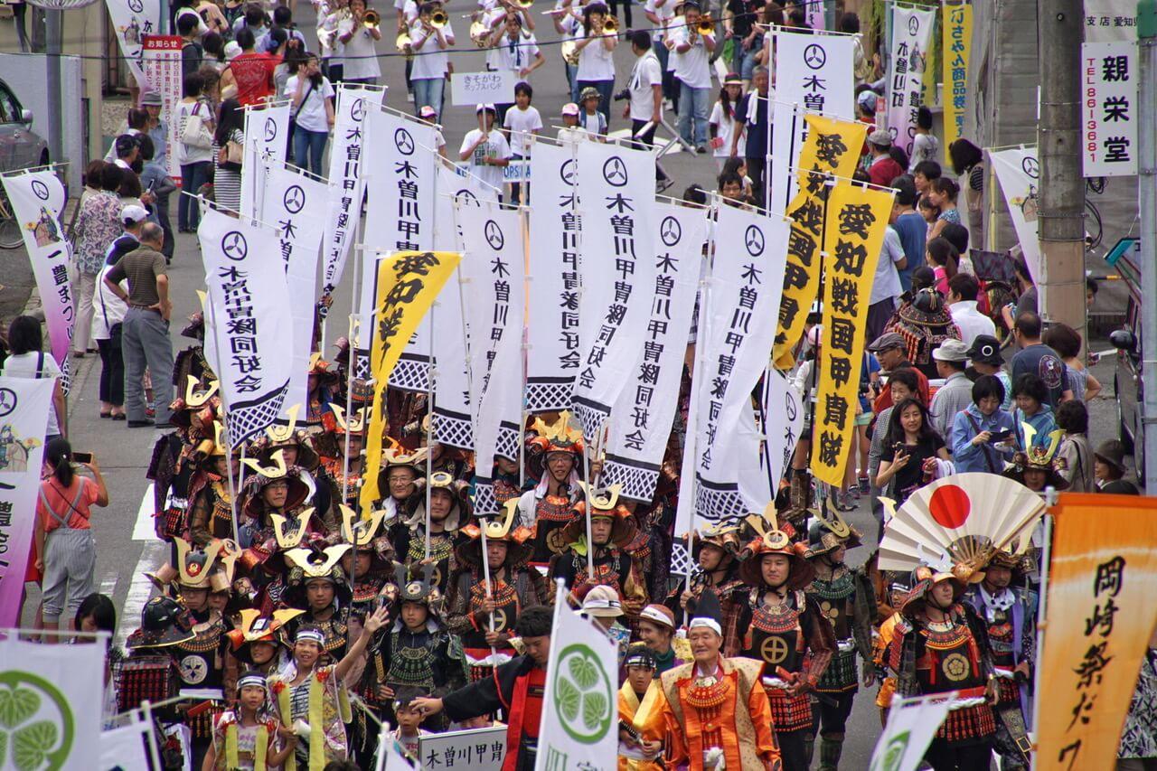 木曽川町一豊まつり 愛知県 Aichi matsuri festival