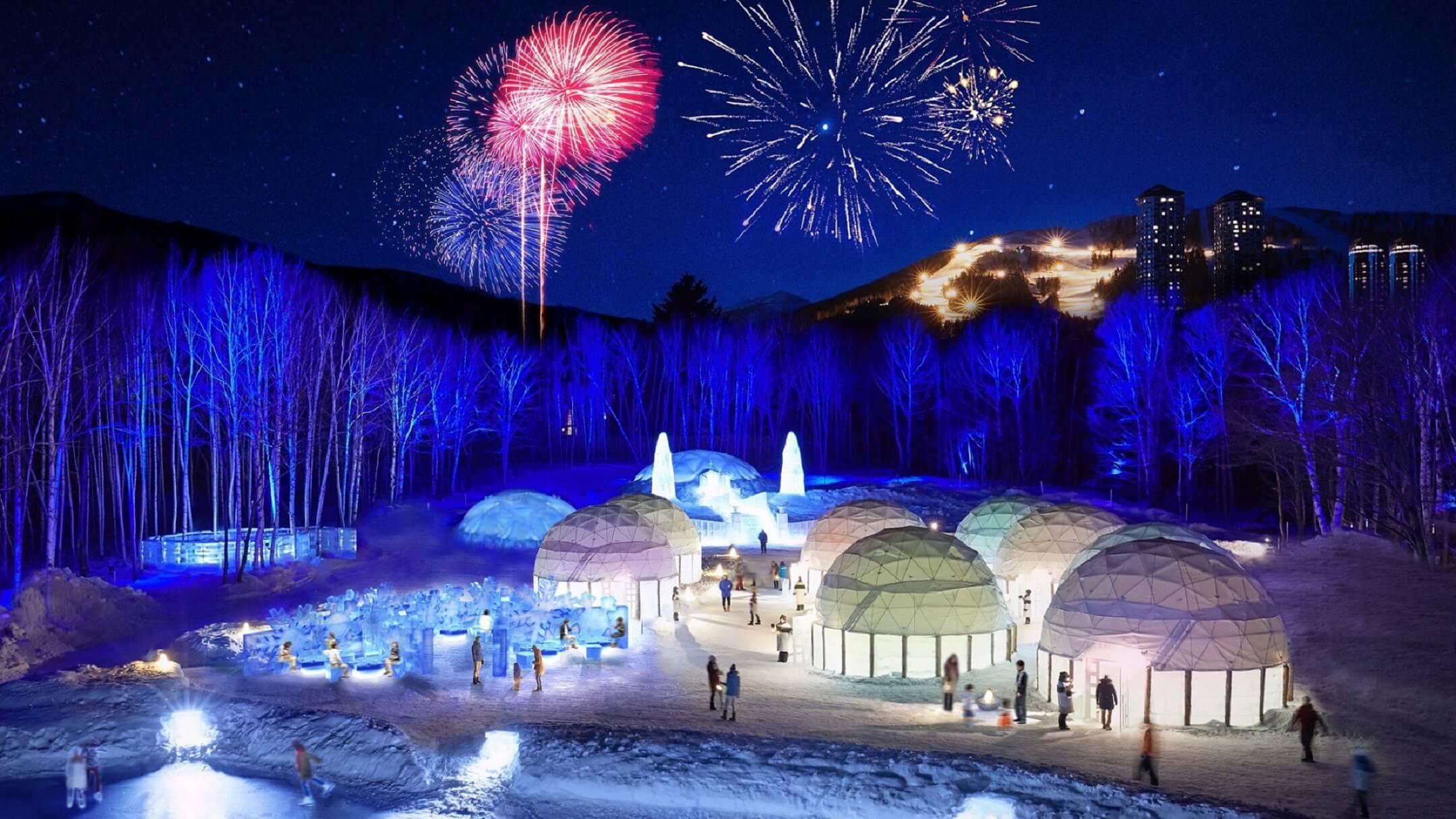 星野リゾート トマム アイスヴィレッジ Hoshino resort 北海道 Hokkaido ice village