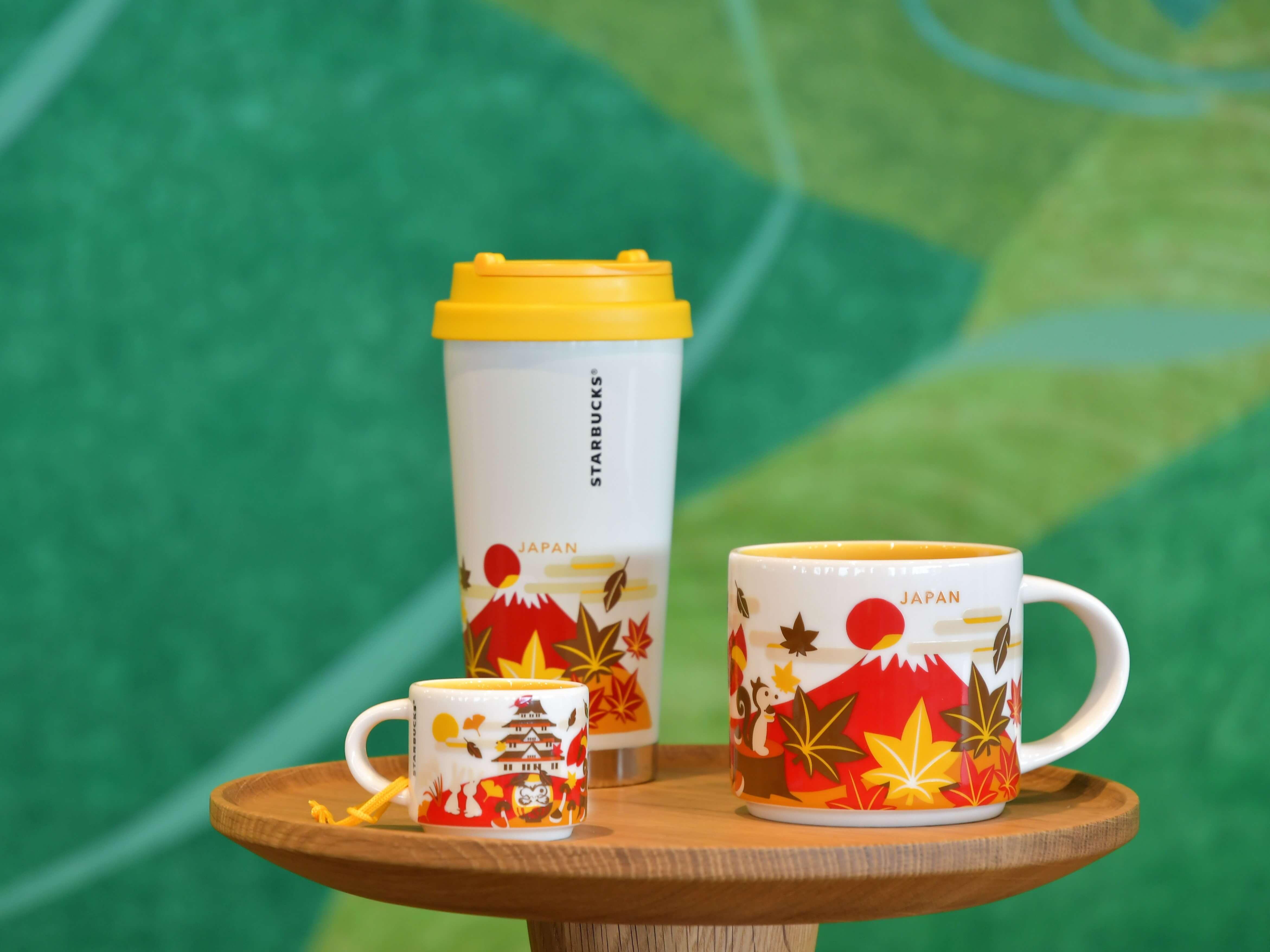 Starbucks Japan Releases Autumn Themed Mugs Tumbler In