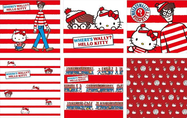 WHERE'S WALLY?(ウォーリーをさがせ!)ハローキティ Hello Kitty