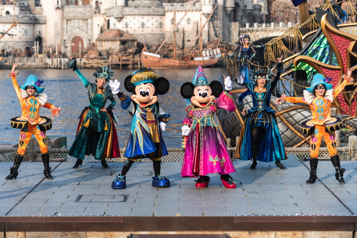 東京ディズニーシー ショー ハロウィン Tokyo Disney Sea Halloween4