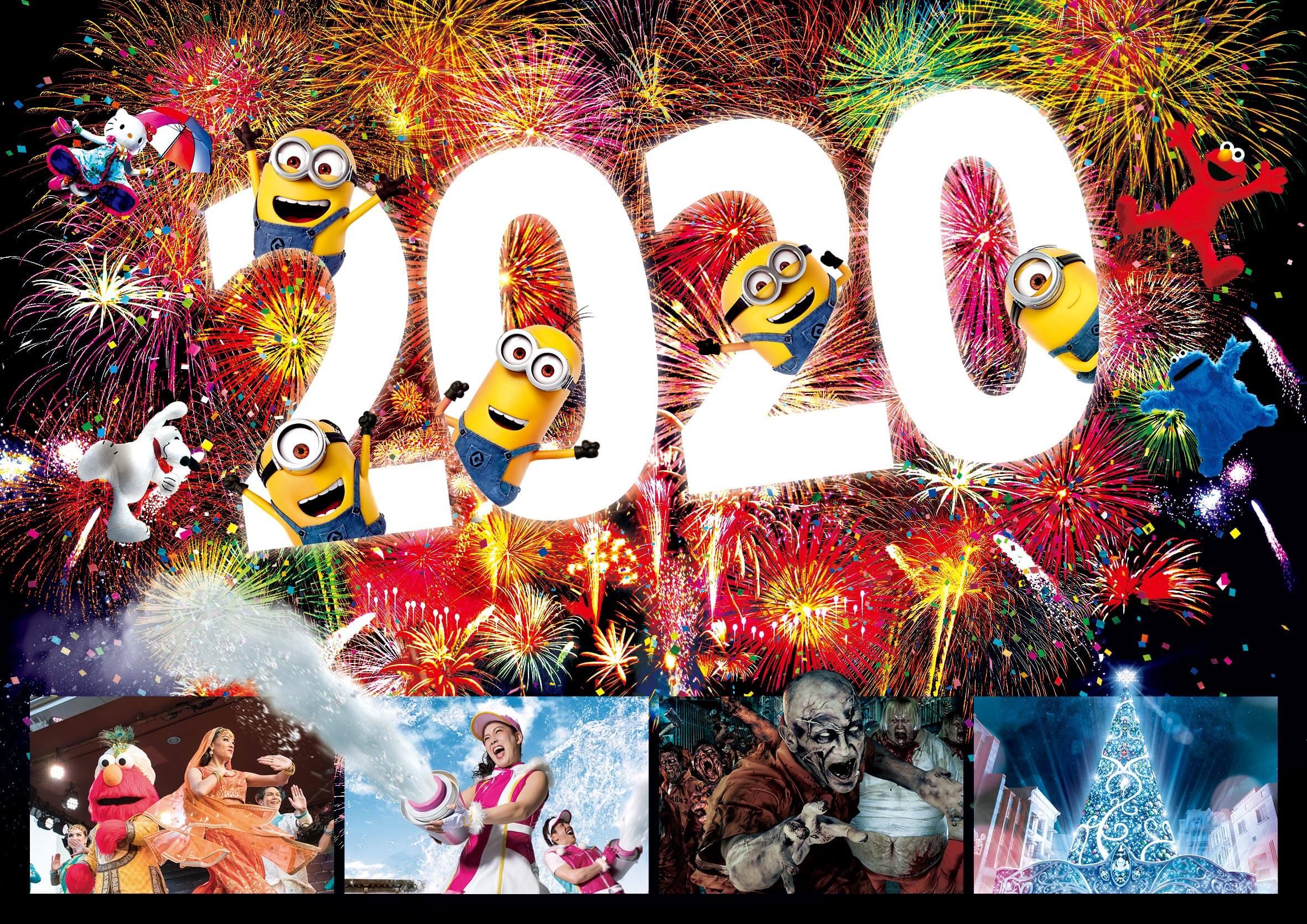 Color Street Halloween 2020.Universal Studios Japan Countdown Party 2020 Celebrate 1