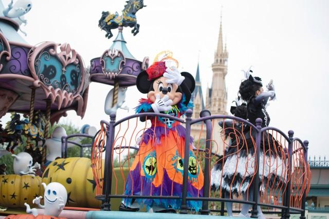 "Tokyo disney land halloween ハロウィーン 東京ディズニーランド_スプーキー""BOO!""パレード/Spooky Boo! Parade _2_md"