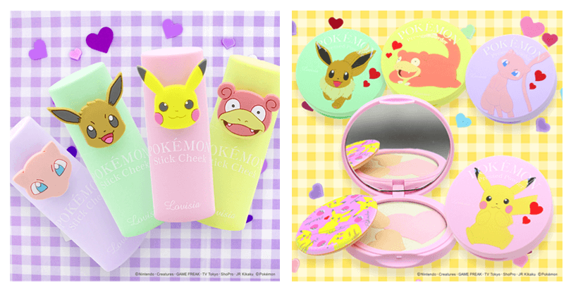 pokemon cosmetics ポケモンコスメ チーク パウダー Cheeks powder_1_top