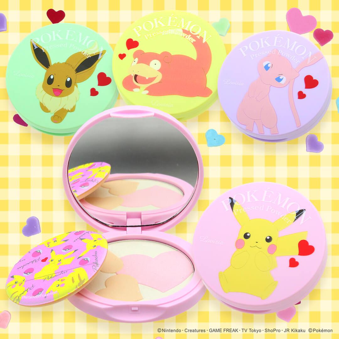 pokemon cosmetics ポケモンコスメ チーク パウダー Cheeks powder_3
