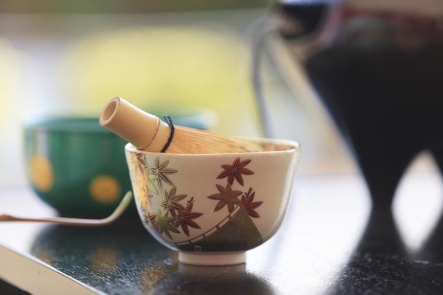 「秋音の茶会 」野点イメージTea at Tokyu Plaza