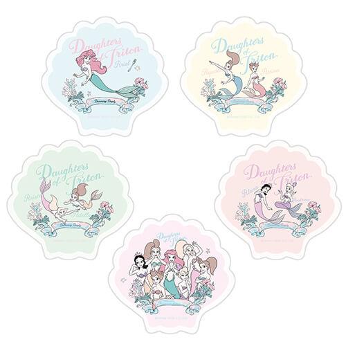 リトル・マーメイド コラボカフェ Little Mermaid collaborate cafe アクリルバッジ(ランダム5種)