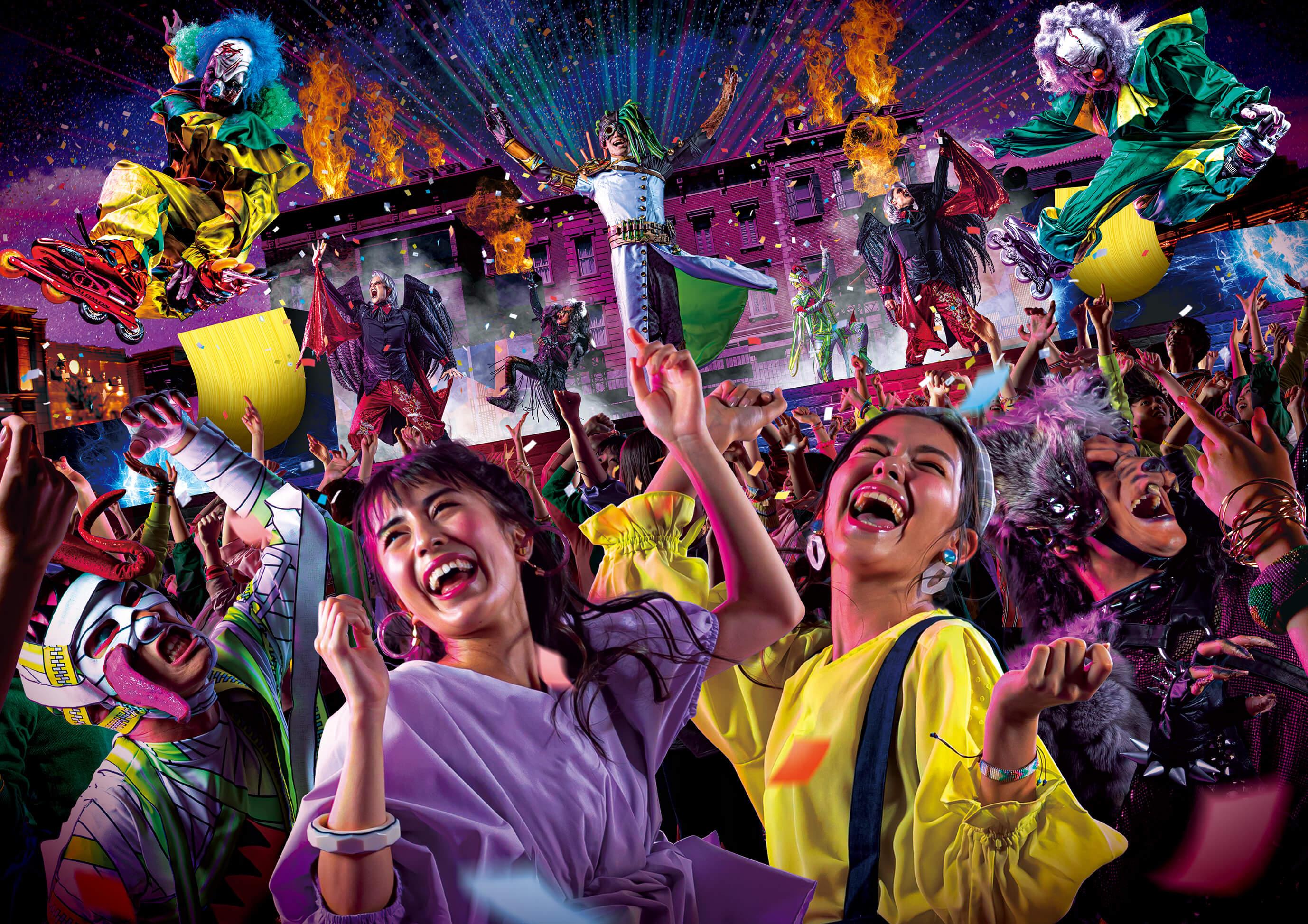 ユニバーサル・スタジオ・ジャパン Universal Studio Japan カウントダウンパーティ Countdown Party 2