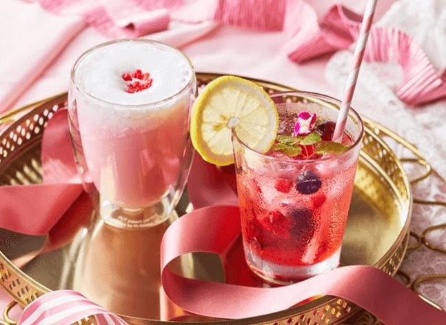ピンクリボン ドリンク 表参道 Pink Ribbon drink cafe omotesando
