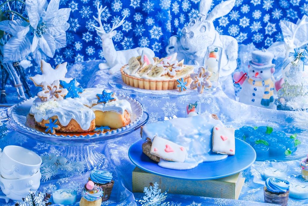 古城の国のアリス アリスのスィーツビュッフェBlue snow collection スイーツ sweets buffet