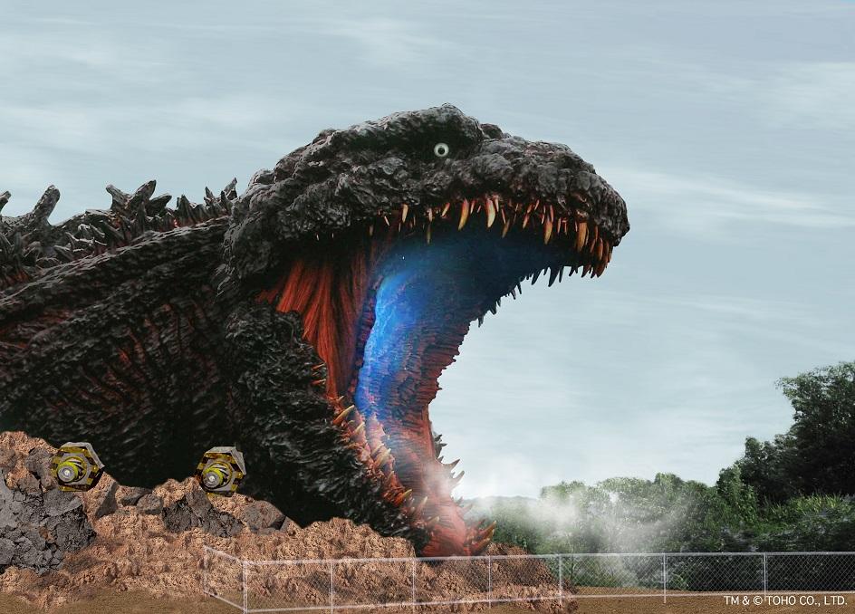 Godzilla ニジゲンノモリ「ゴジラ迎撃作戦」2020年 夏 淡路島 Awajishima Nijigennomori_体内ジップライン