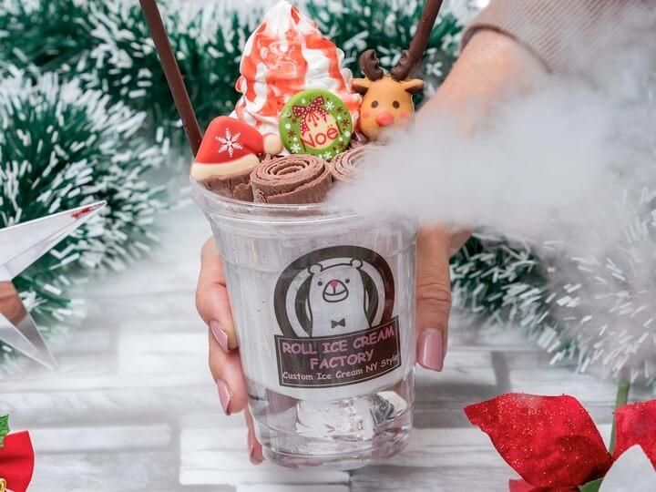 ROLL ICE CREAM FACTORY ロールアイスクリームファクトリー クリスマス christmas 2