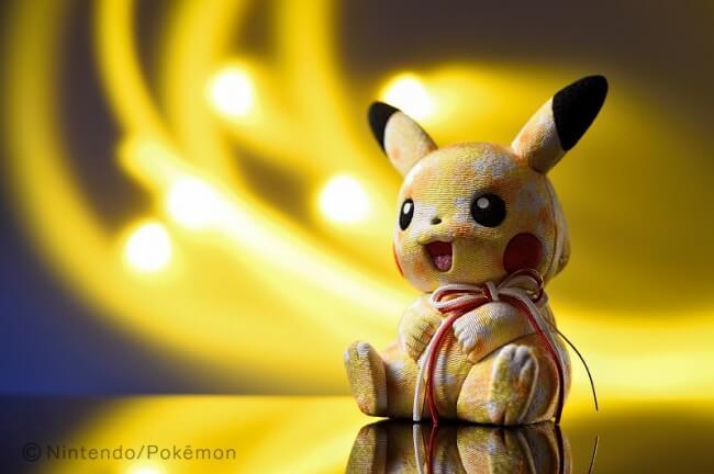 ピカチュウ 江戸木目込み人形 伝統工芸 Pikachu Traditional