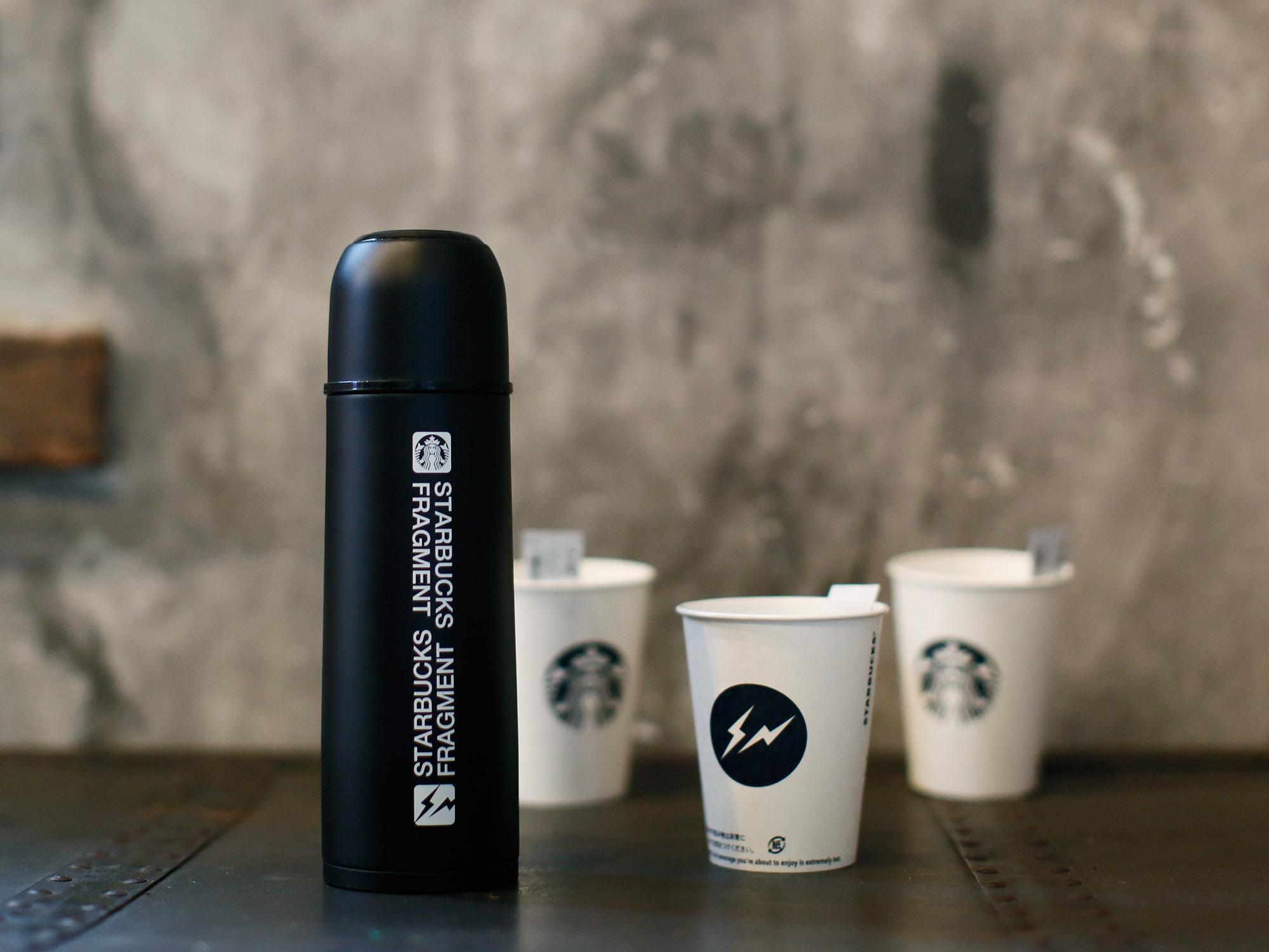 スタバ Hiroshi Fujiwara 藤原ヒロシ氏主宰fragment design+Starbucks