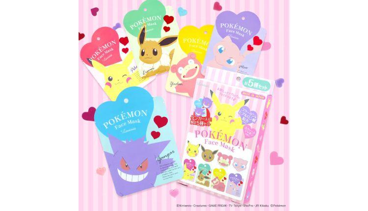 ポケモン フェイスマスク コスメ pokemon cosmetic