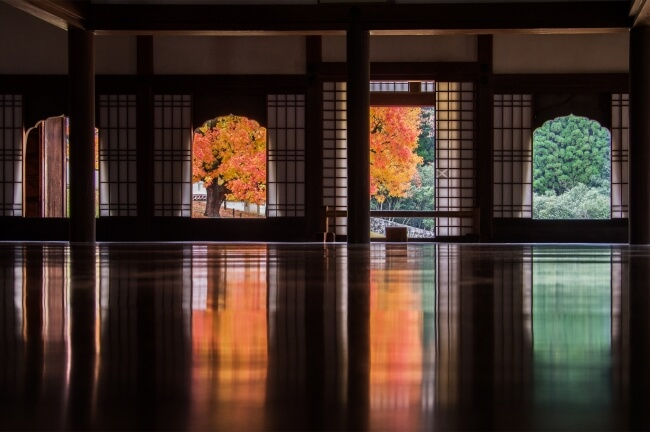 岡山県 旧閑谷学校 しずたに Okayama Shizutani Colour autumn_3