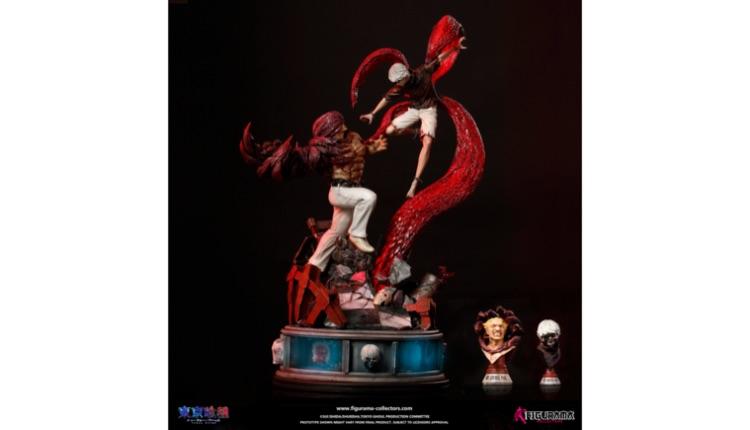 東京喰種Figurama Tokyo Ghoul Figurine-2