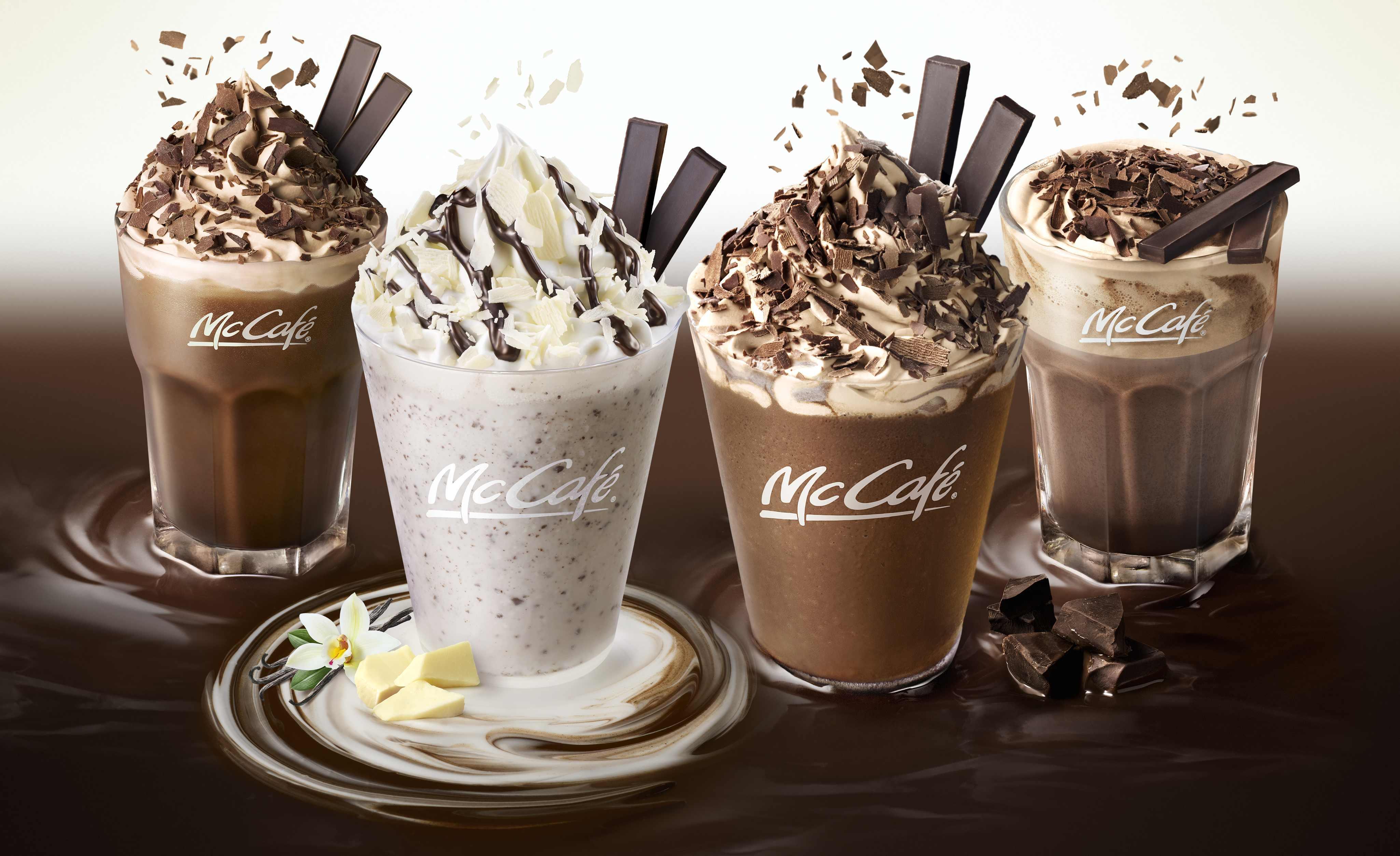 McDonalds Drinks プレミアムチョコレートシリーズ