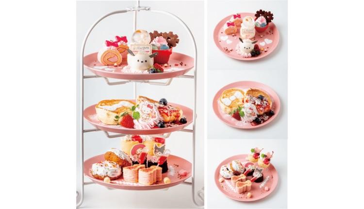 サンリオコラボカフェフード Sanrio Collaboration Cafe Food