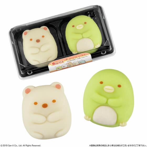 食べマス 和菓子 すみっコぐらし Tabemasu japanese sweets 2
