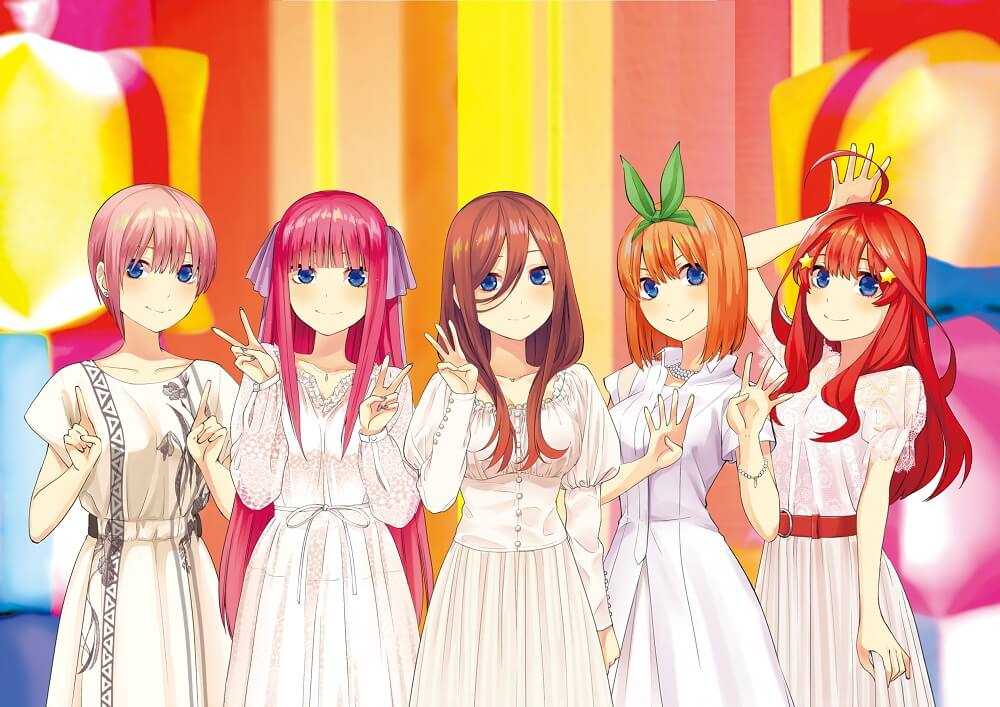五等分の花嫁 The Quintessential Quintuplets 五等分的新娘 event_v_KV